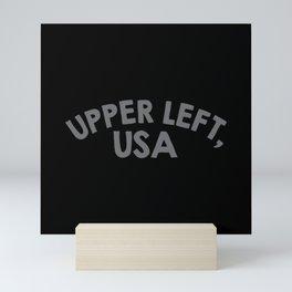 Upper Left, USA Mini Art Print