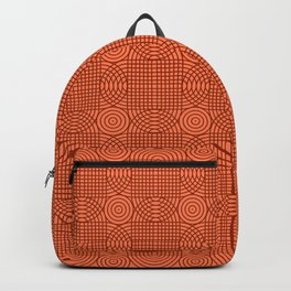 Op Art 18 - Coral Backpack