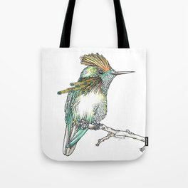 The Tufted Coquette Tote Bag
