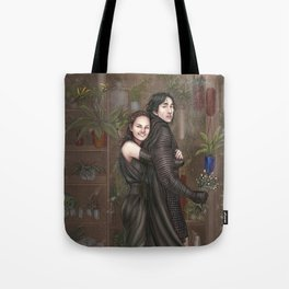 Among all the flowers Tote Bag