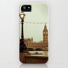 The old clock Slim Case iPhone (5, 5s)