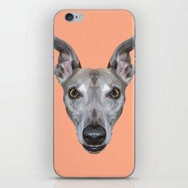 Whippet // Peach (Vespa) iPhone Skin