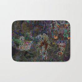 Witch Doctor and Baba Yaga Bath Mat