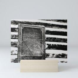 Cabin fever Mini Art Print