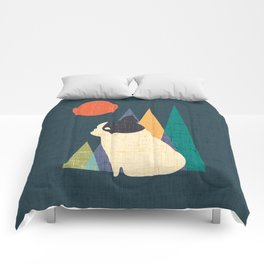 Waiting for You French Bulldog Comforters
