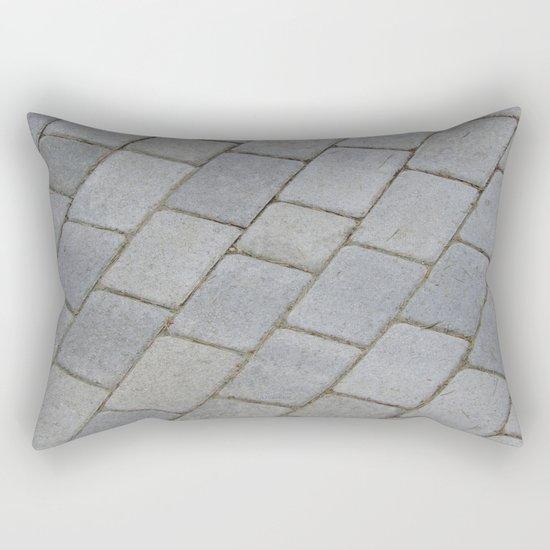 TEXTURES -- Pavingstone Pattern Rectangular Pillow