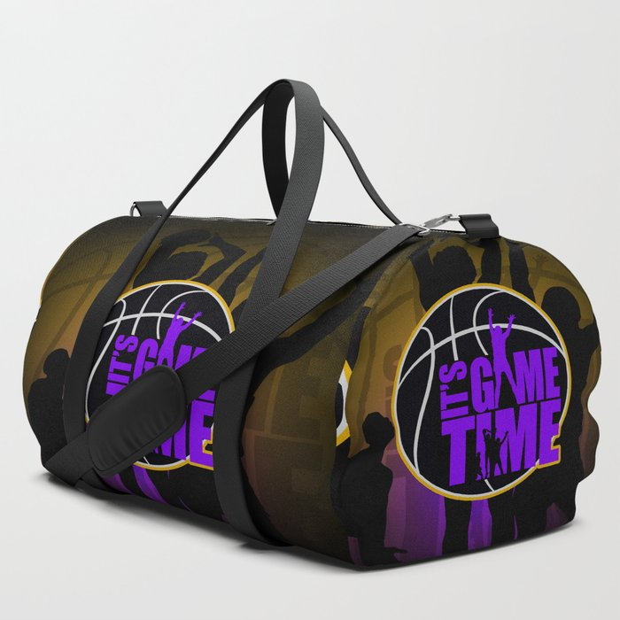 Its_Game_Time__Purple_&_Gold_Duffle_Bag_by_Adamzworld__SET_OF_3