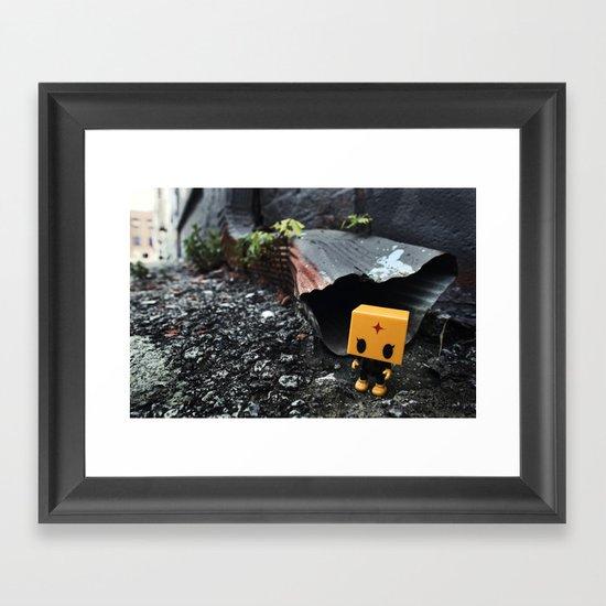 out da gutta Framed Art Print