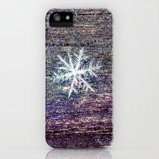 snowflake Slim Case iPhone (5, 5s)