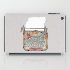 I DON'T KNOW WHAT TO WRITE YOU iPad Case