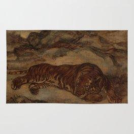 Tiger in Repose Rug