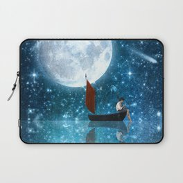 The Moon and Me v2 Laptop Sleeve
