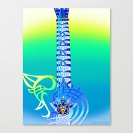 Keyblade Guitar #58 - Ultima Weapon (KH1) Canvas Print