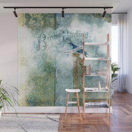 Birdie Darling Wall Mural