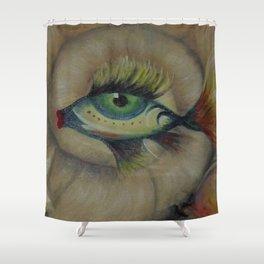 Fisch-Eye Shower Curtain