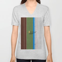 Cycling Sprinter  Unisex V-Neck