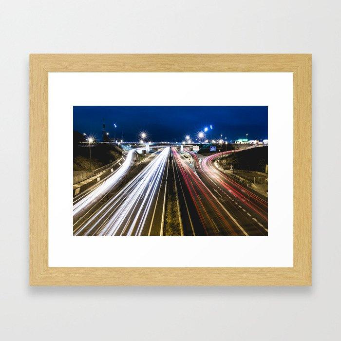 Trails Framed Art Print