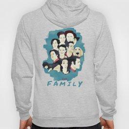 Family Faces Hoody
