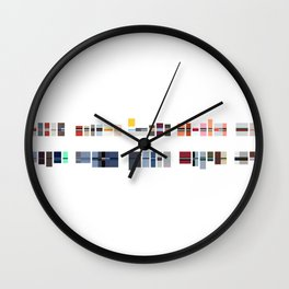 Melrose Ave Wall Clock