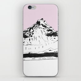 a mountain iPhone Skin