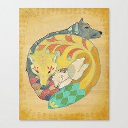 Close-knit Canvas Print