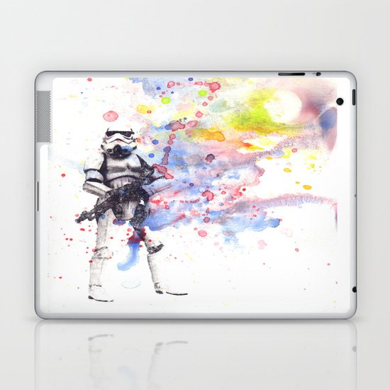 Storm Trooper from Star Wars Laptop & iPad Skin