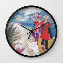 Private girls 13 Wall Clock