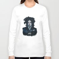 jack white Long Sleeve T-shirts featuring Typo-songs Jack White by Daniac Design