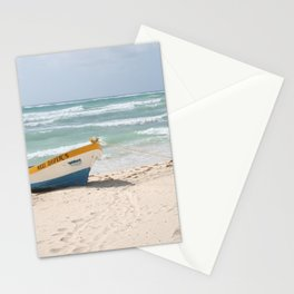 Mexi Diver's Boat Stationery Cards