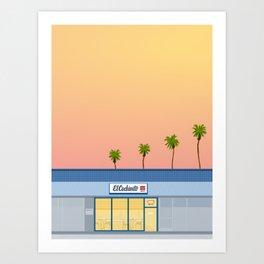 El Cochinito Storefront Art Print