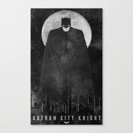 Gotham City Knight Canvas Print