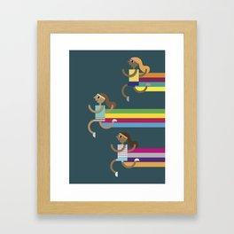 Runners Framed Art Print