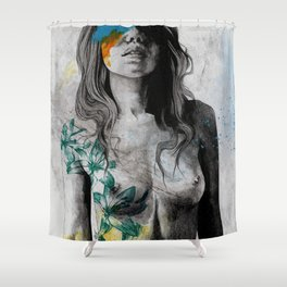To The Marrow Shower Curtain