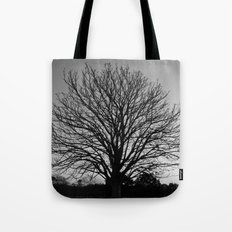 richmond park- b-w Tote Bag
