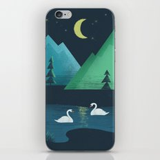 Moonlight Swim iPhone & iPod Skin