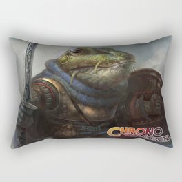 A knightly Frog  Rectangular Pillow