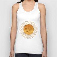sun and moon Tank Tops featuring sun-moon by Vila Propuh