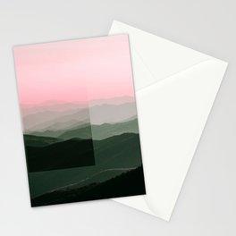 Pink Ridges Stationery Cards