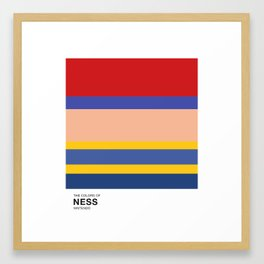 The Colors of Ness Framed Art Print