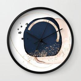 Abstract watercolors 11 Wall Clock