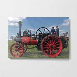 Chieftain traction engine Metal Print