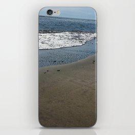 Black sand beach, El Salvador 2 iPhone Skin