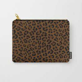 Leopard Print - Dark Carry-All Pouch