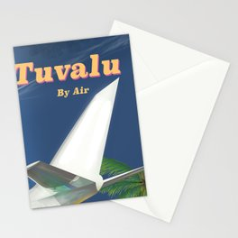 Tuvalu By air Stationery Cards