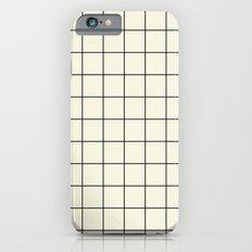 simple grid iPhone 6s Slim Case