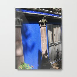 Door No. 11 in Guanajuato, Mexico (2005) Metal Print
