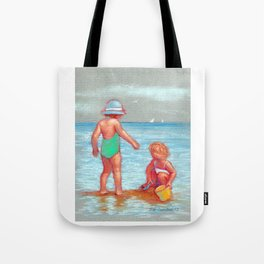 Beach Babies Tote Bag