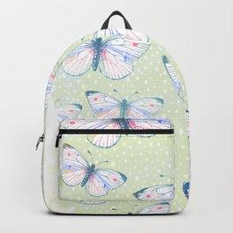 vintage butterfly pattern Backpack