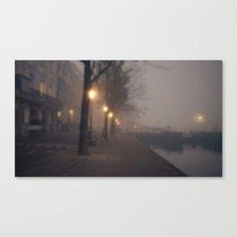 16:43 in Amsterdam Canvas Print