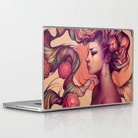 roses Laptop & iPad Skins featuring Leah by Megan Lara